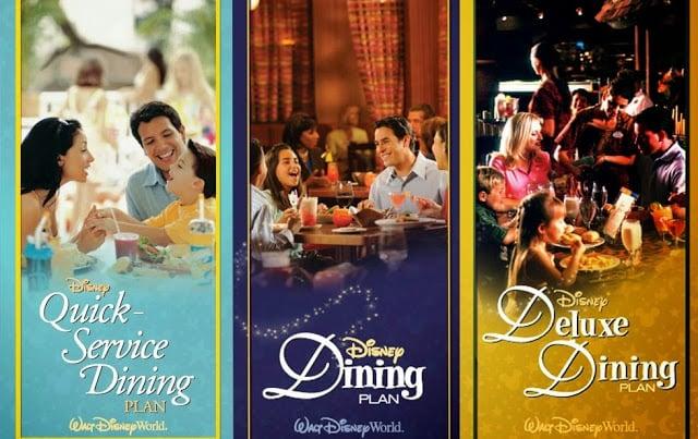 Conheça os planos de refeições Dining Plan da Disney em Orlando