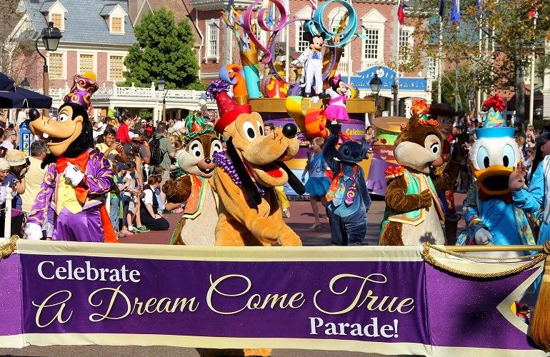 Parque Magic Kingdom da Disney Orlando: parada