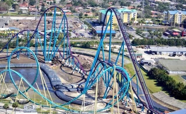 Montanhas russas do SeaWorld Orlando: Mako
