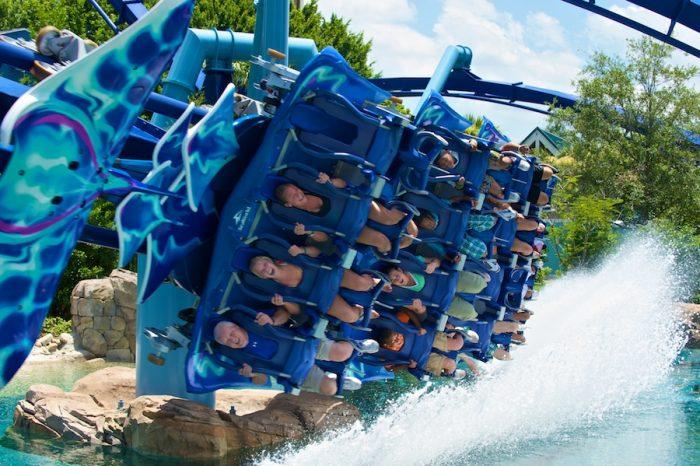 Montanhas russas do SeaWorld Orlando
