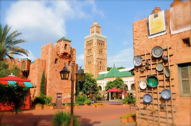 Parque Epcot da Disney Orlando: World Showcase - Pavilhão do Marrocos