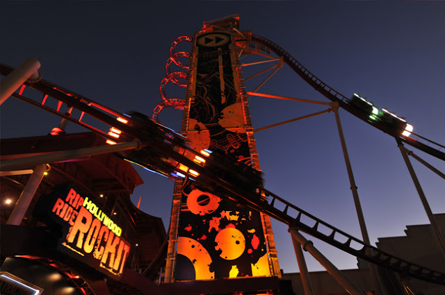 Universal Studios Orlando: Montanha Russa Rock It