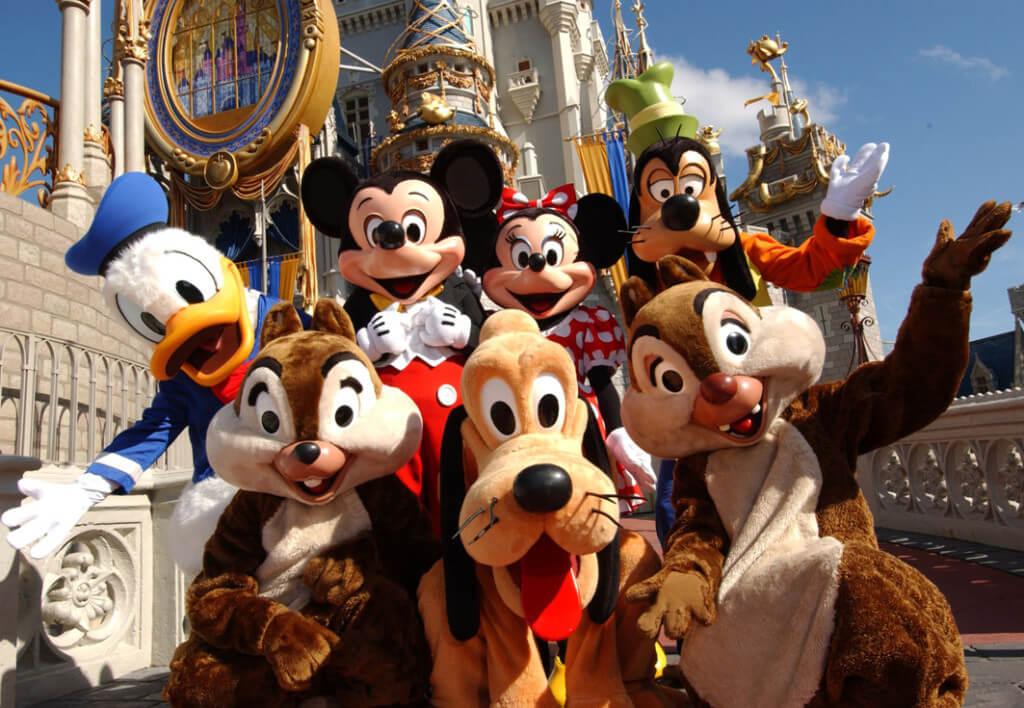 Como trabalhar na Disney em Orlando: personagens Disney