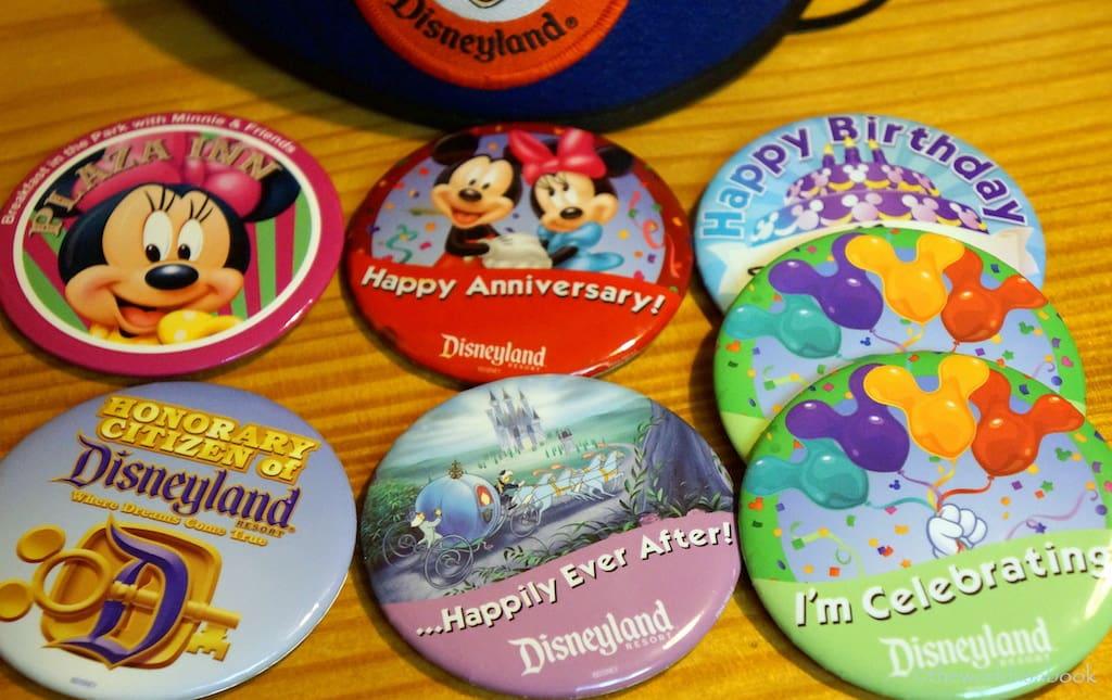Buttons da Disney em Orlando