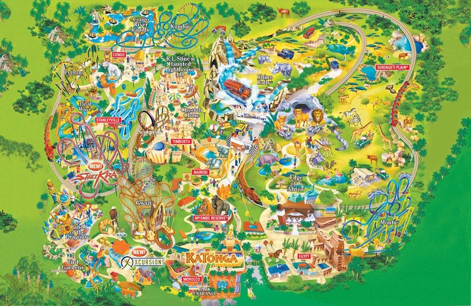 busch-gardens-tampa-mapa