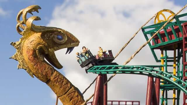 Parque Busch Gardens em Tampa: Brinquedo