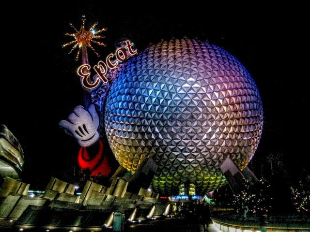Parque Epcot da Disney Orlando: informações