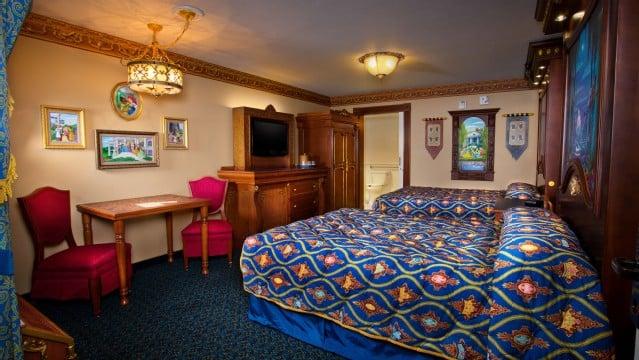 Região dos hotéis da Disney