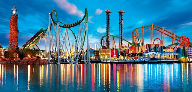 Parque Islands of Adventure em Orlando