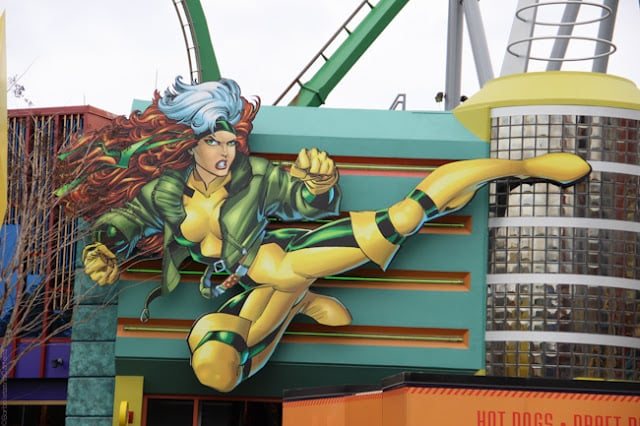 Heróis da Marvel no Islands of Adventure Orlando