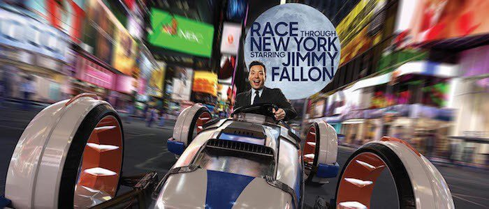 jimmy fallon ride Race Through New York
