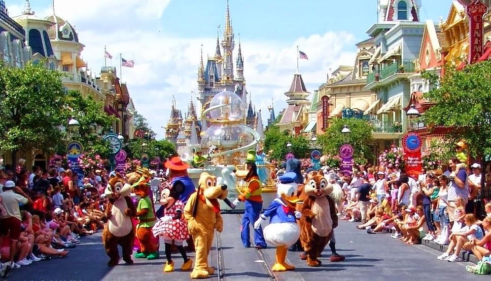 Parques para crianças em Orlando / Parque Magic Kingdom