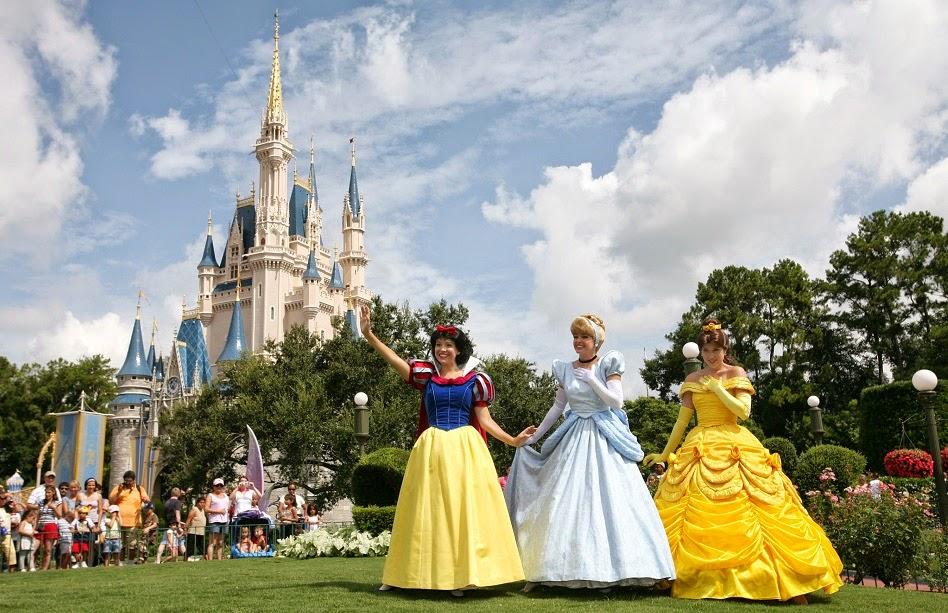 Parque Magic Kingdom da Disney Orlando: princesas Disney