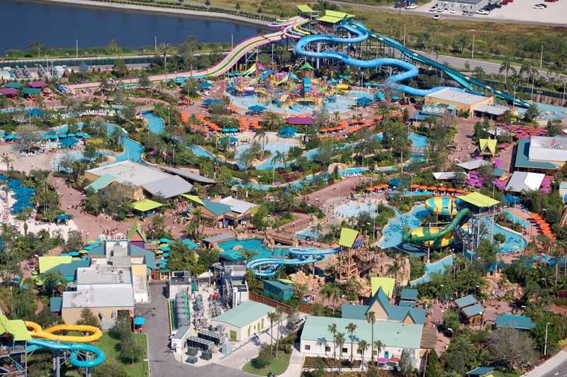 Parque Aquático Aquatica em Orlando