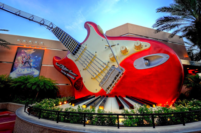 Montanha Russa do Aerosmith no Hollywood Studios