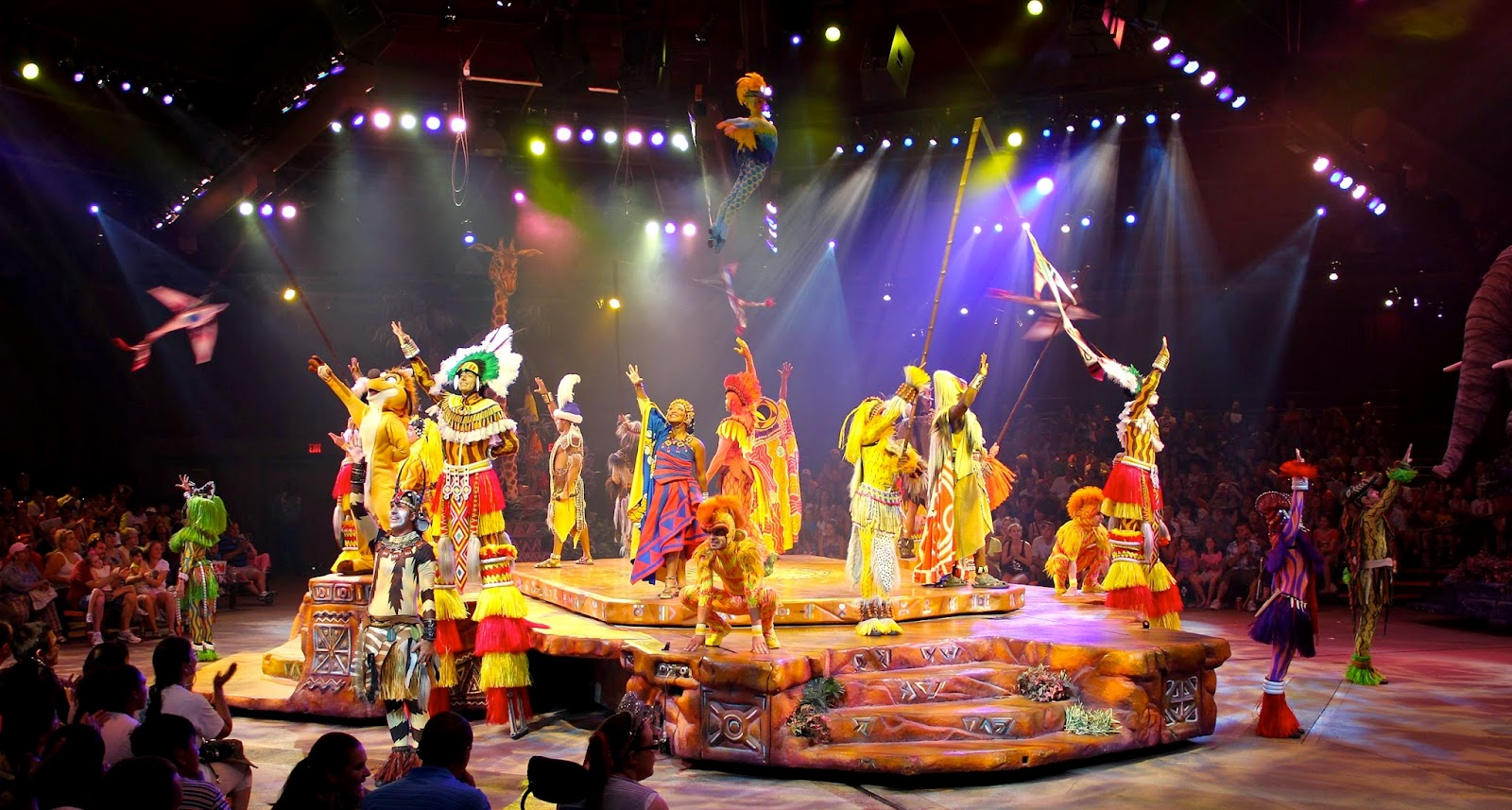 Parque Animal Kingdom da Disney Orlando: Festival of the Lion King
