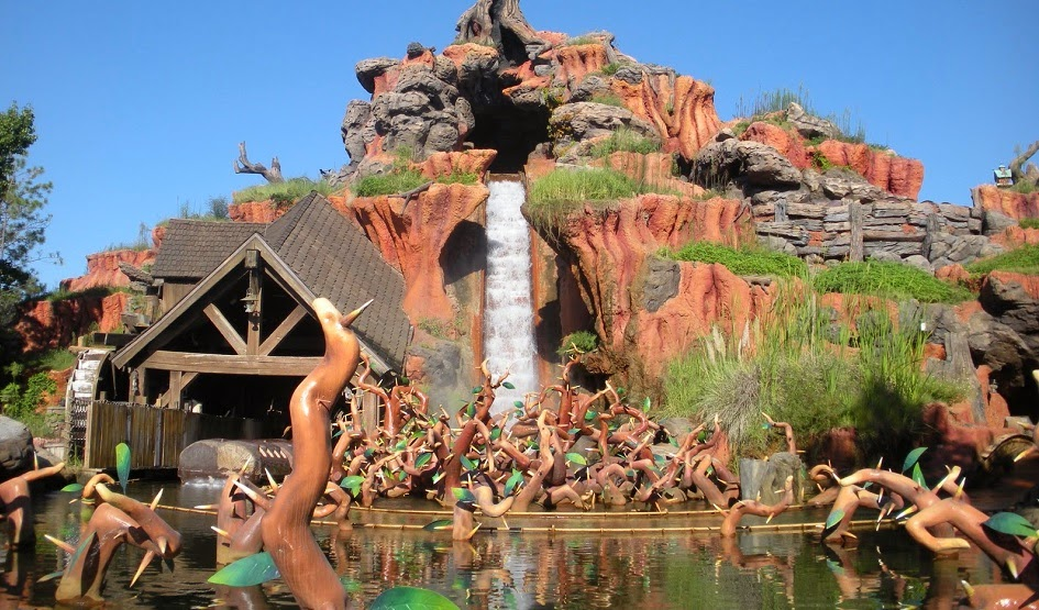 Parque Magic Kingdom da Disney Orlando: Splashmountain