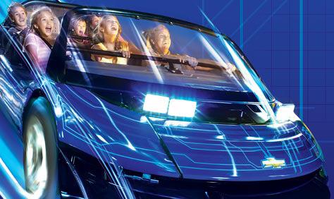 Test Track: Parque Disney Epcot Orlando