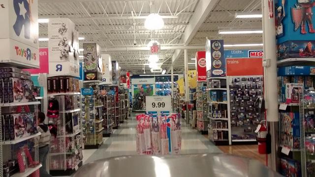 """Melhores lojas para o enxoval do bebê em Orlando: loja Toys """"R"""" Us"""