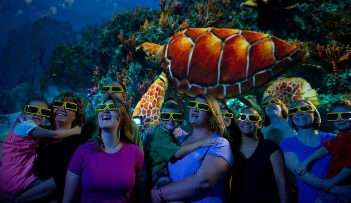 Turtle Trek Parque SeaWorld Orlando