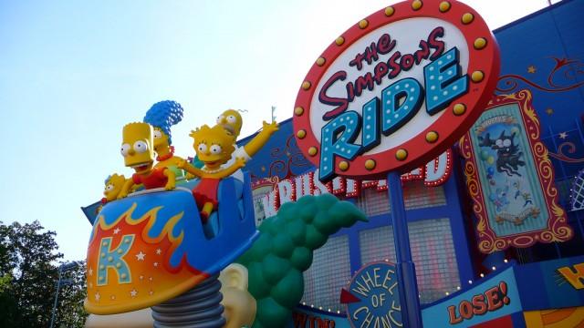 Os Simpsons no Universal Studios Orlando
