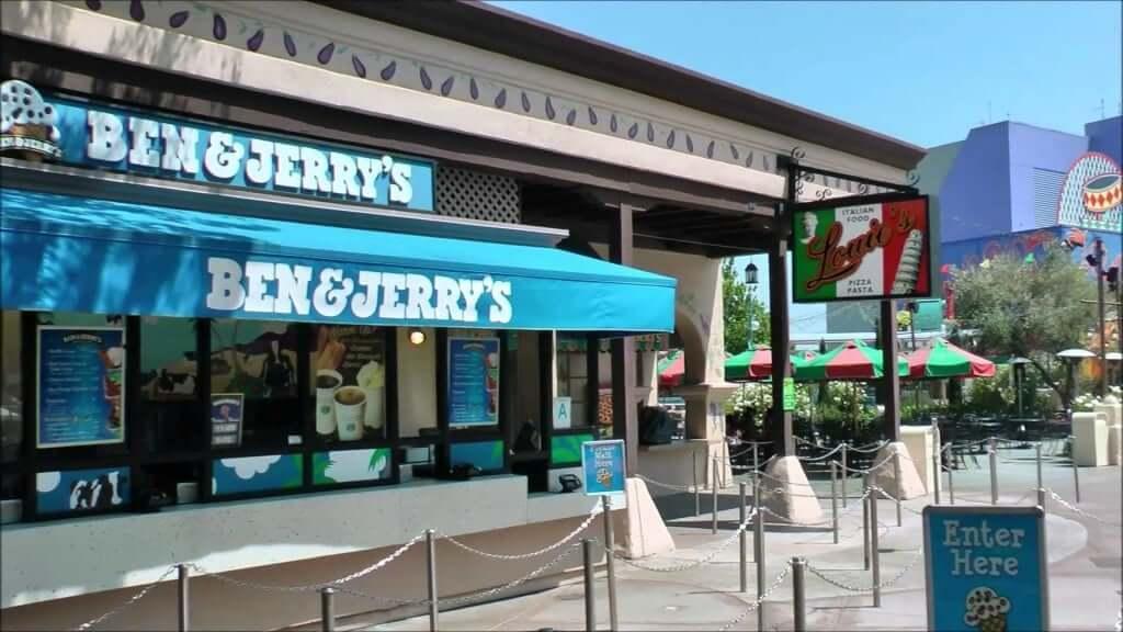 Onde tomar sorvete em Orlando: Ben & Jerry's