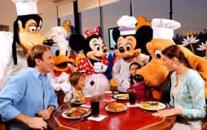 Restaurante Chef Mickey's na Disney Orlando