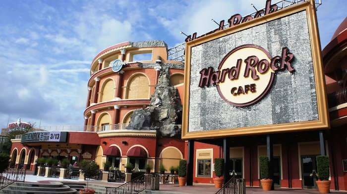 Hard Rock Cafe at Universal CityWalk Orlando.