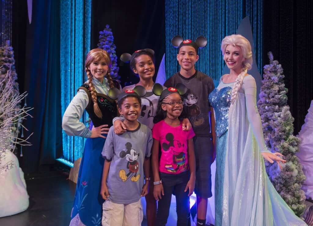 Frozen Summer Fun na Disney em Orlando