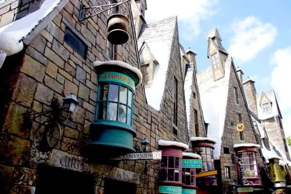 Hogsmead Village no Parque Mundo do Harry Potter em Orlando