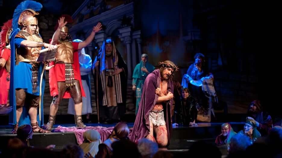 Encenação em Holy Land Experience em Orlando