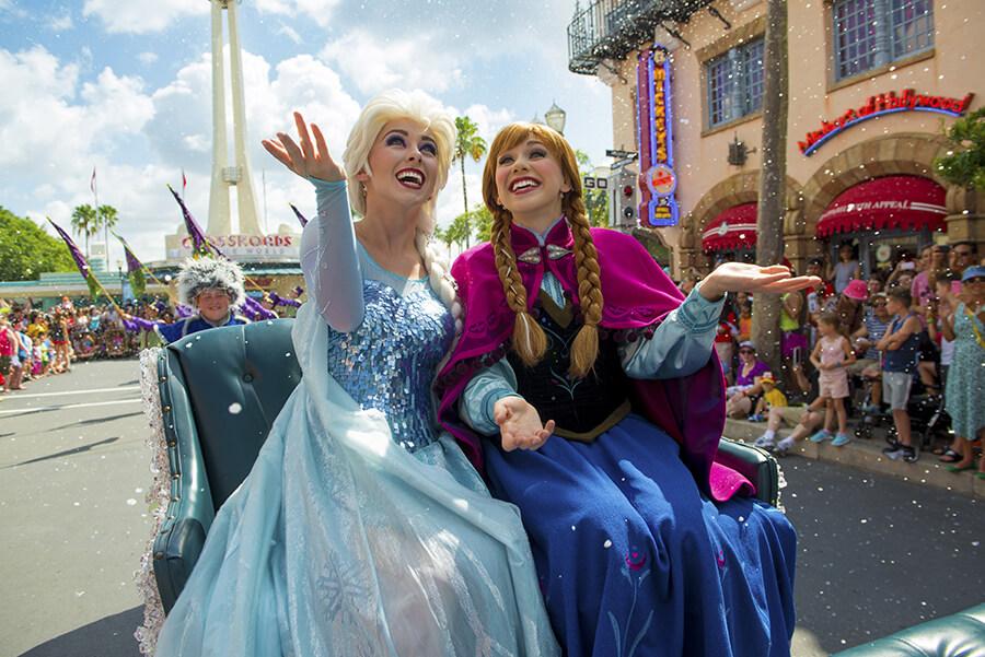 chegada Frozen Summer Fun na Disney em Orlando