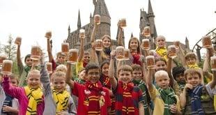 Cerveja amanteigada do Harry Potter em Orlando 2