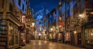 Beco Diagonal do Harry Potter em Orlando 1