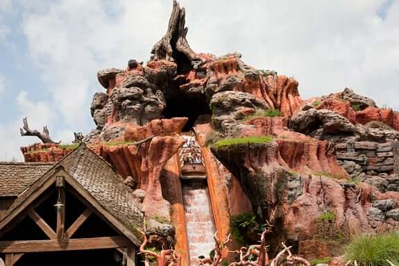 Melhores brinquedos do Parque Disney Magic Kingdom: Disney Splash Mountain