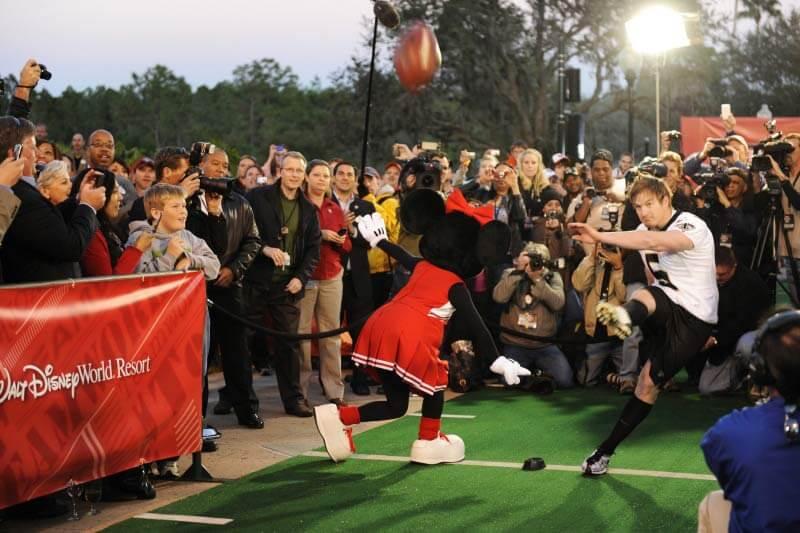 Parque ESPN na Disney Orlando: Minnie