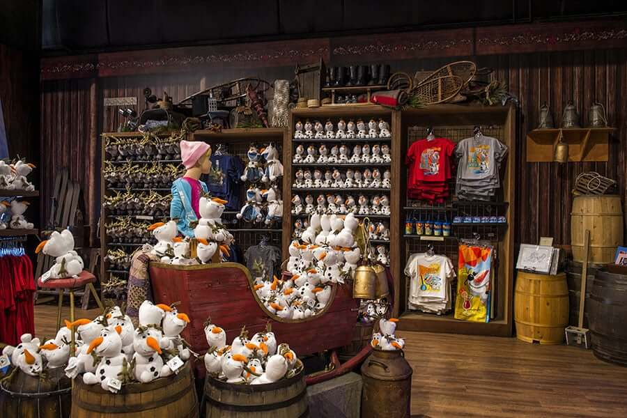 Lojas no Parque Disney Hollywood Studios Orlando : Frozen