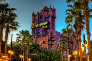 7 atrações e brinquedos do Parque Disney Hollywood Studios Orlando: Twilight Zone Tower of Terror