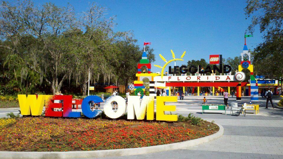 Entrada parque Legoland em Orlando