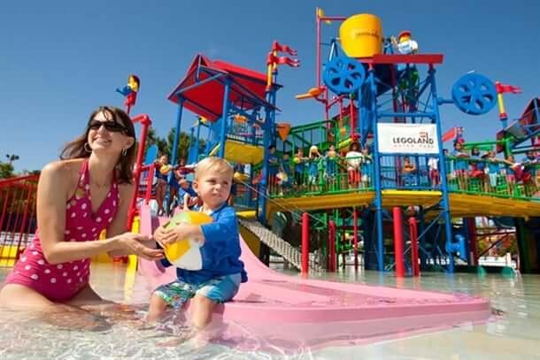 Parques para crianças em Orlando / Parque Legoland WaterPark da Lego Orlando