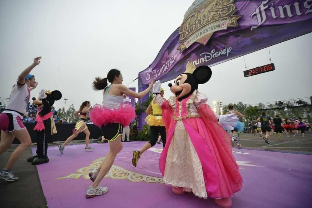 Corridas e maratonas da Disney