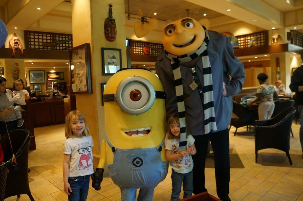 Universal Orlando Resort - Character Breakfast Minions