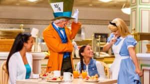 Restaurante 1900 Park Fare da Disney Orlando
