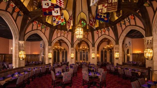 Restaurante Akershus Royal Banquet Hall Disney em Orlando
