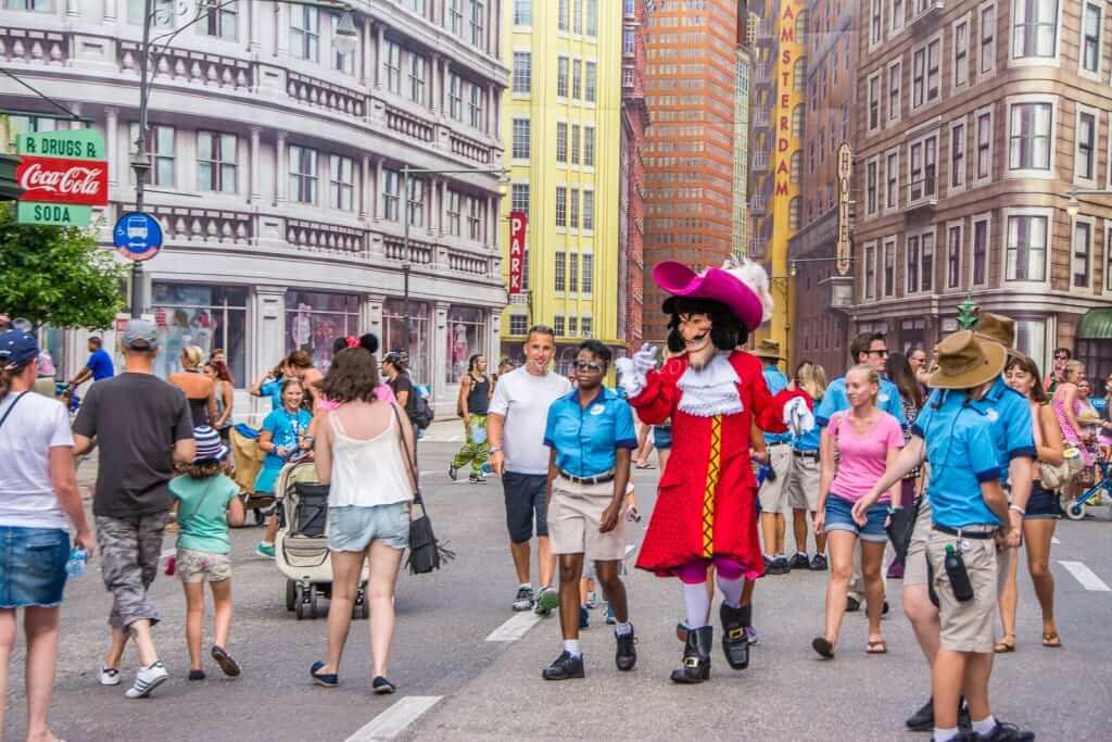 Character Palooza e o encontro com personagens de Peter Pan na Disney Orlando