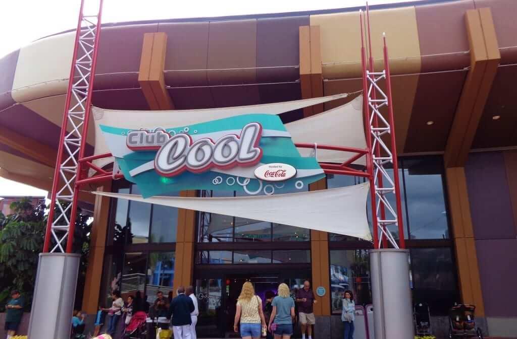 Loja Club Cool da Coca Cola em Orlando