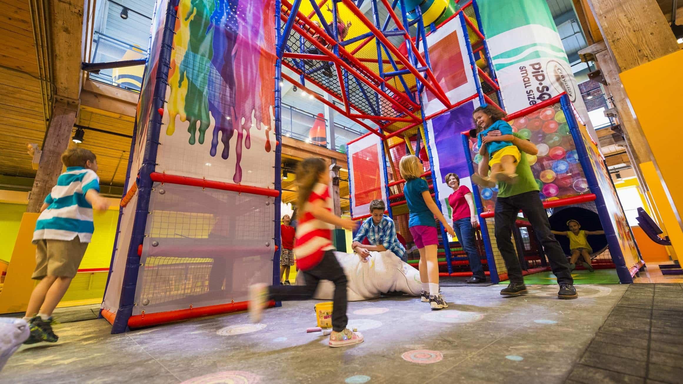 Atrações do Crayola Experience em Orlando