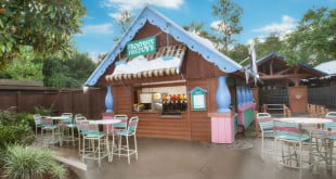 Bar do Frozen no Disney Blizzard Beach Orlando 2
