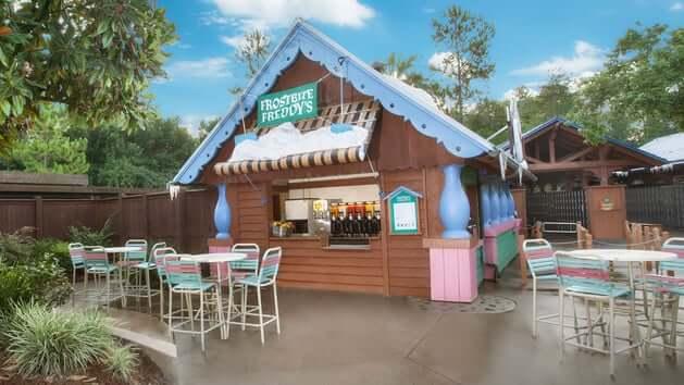 Bar do Frozen no Disney Blizzard Beach Orlando