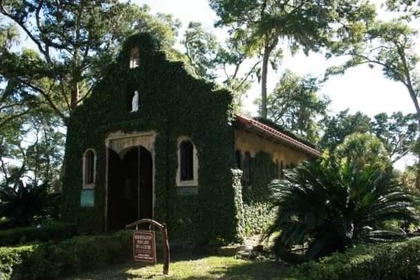 Igreja Our lady of la Leche em Saint Augustine